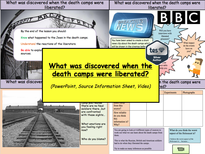 What was discovered when the death camps were liberated?