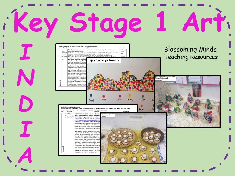 Key Stage 1 Indian Art 5 week plan