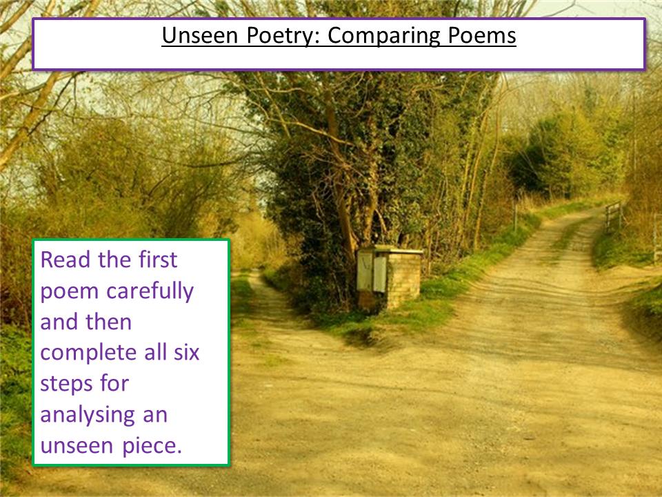Unseen Poetry
