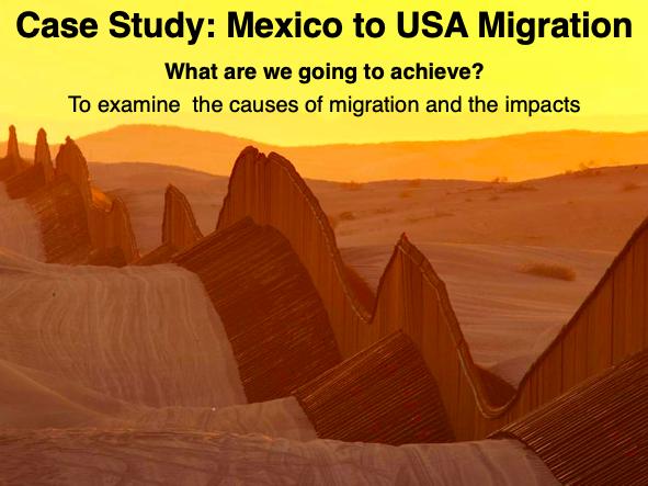 IGCSE/GCSE Mexico to USA Migration Case Study