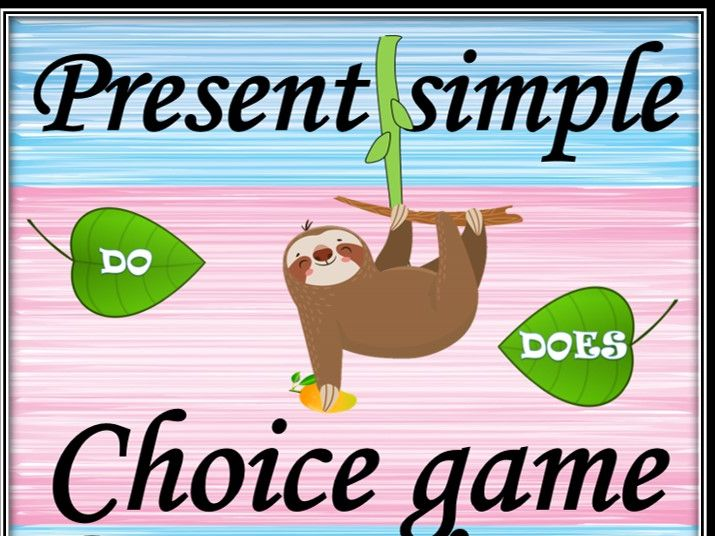 Present Simple. Questions. Choice game.