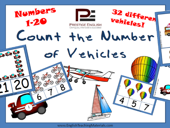 Transportation Counting Game