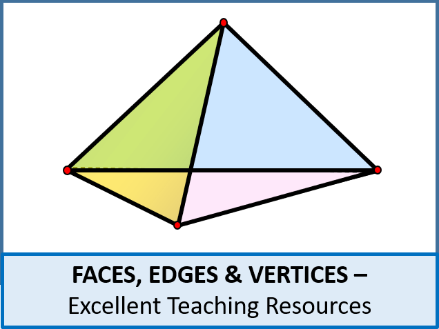 Geometry Faces Edges And Vertices Worksheet By Ajf43