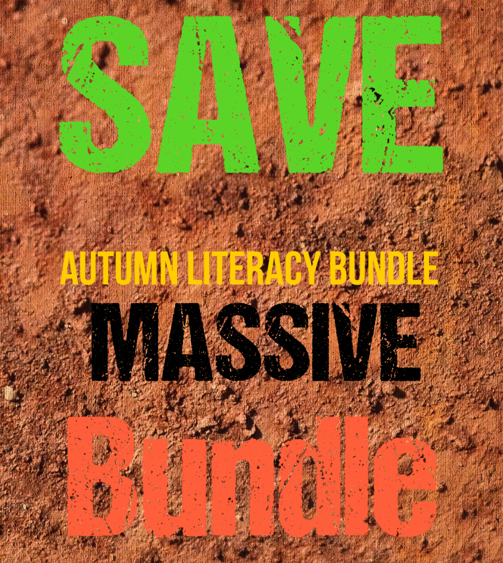 Massive Autumn Literacy Bundle