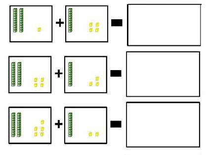 KS1 Maths Adding using Base 10