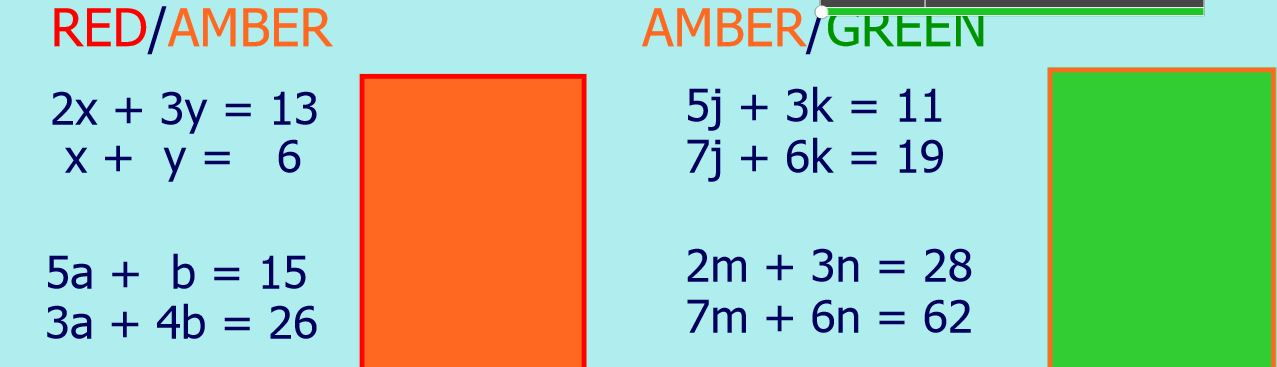 how to solve simultaneous equations by elimination