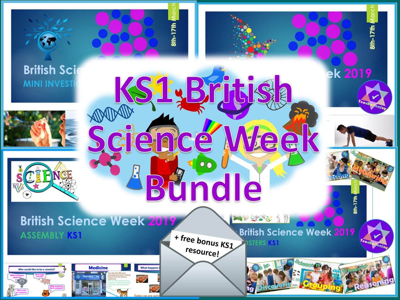 British Science Week KS1 Bundle