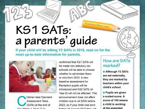KS1 SATs guide for parents