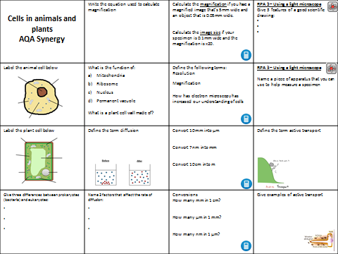 Periodic table quiz by misswho teaching resources tes aqa synergy cells in animals and plants revision urtaz Images