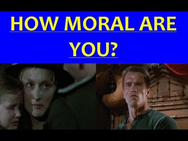 How Moral Are You? (PowerPoint with video)