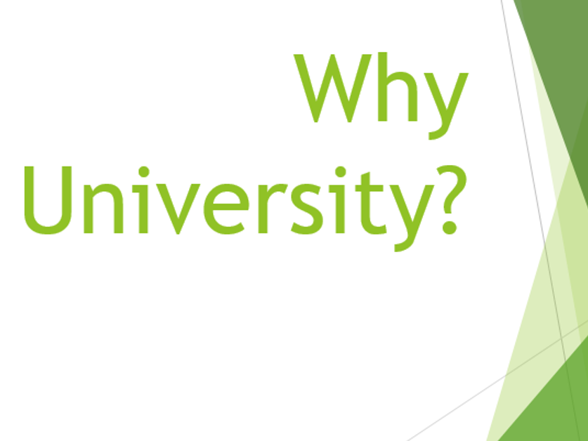 Why University Powerpoint