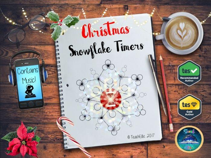 Christmas - Snowflake Timers