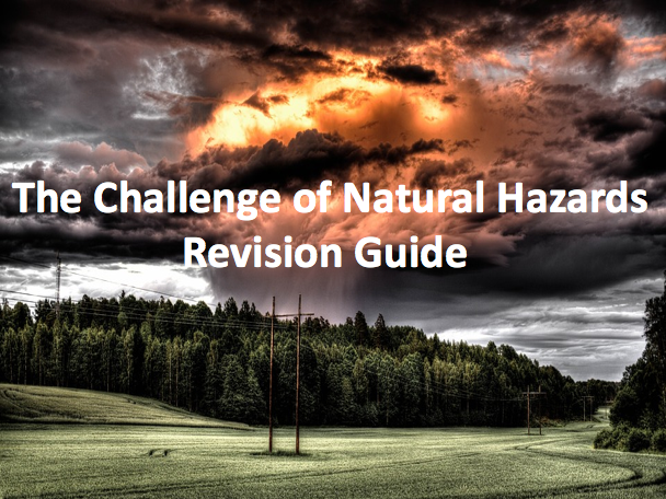 The Challenge of Natural Hazards - Revision Guide AQA GCSE