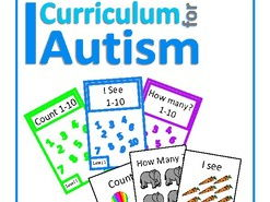 Autism, Count 1-10 Interactive Adapted Books Set, Special Education, SEND