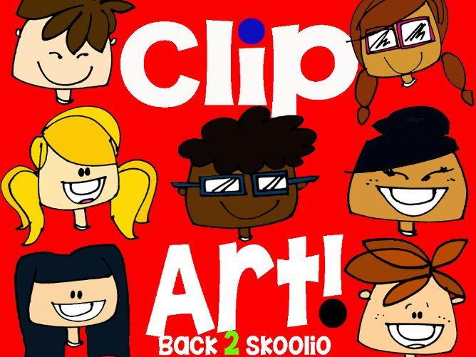 Clip Art Back 2 Skoolio