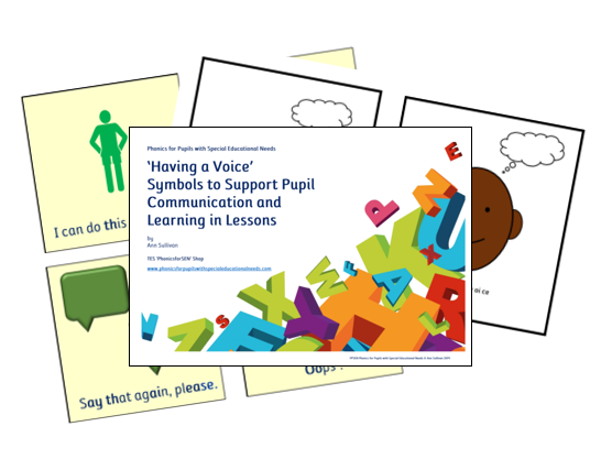Phonics for SEN: 'Having a Voice' Symbols to Support Communication & Learning
