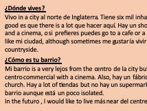 Tangled translation. Mi barrio y mi ciudad