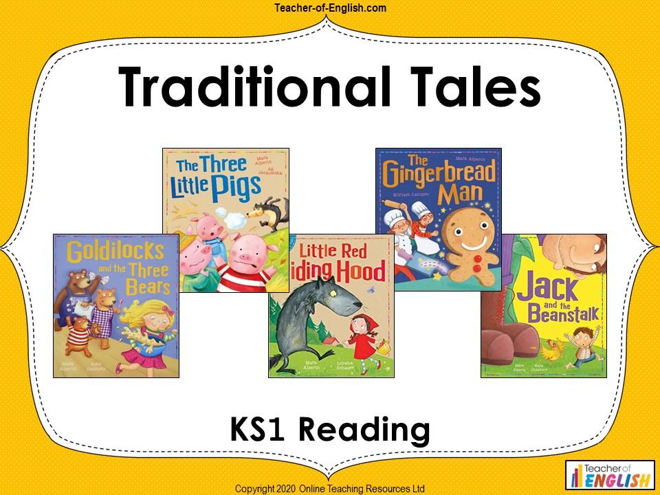 Traditional Tales - KS1 Narrative