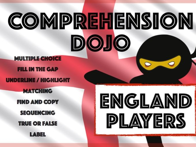 Comprehension Dojo - England Players