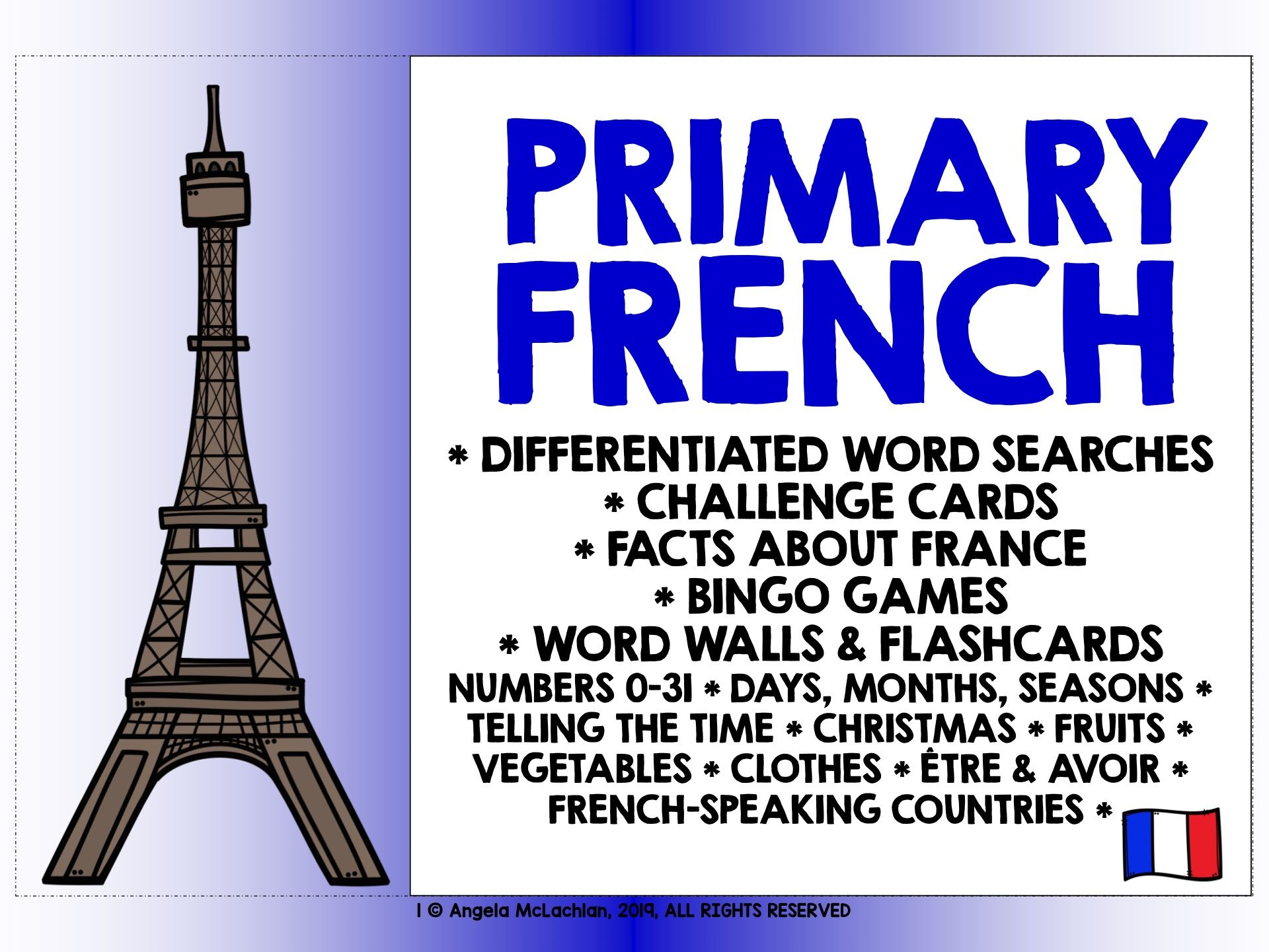 PRIMARY FRENCH #1