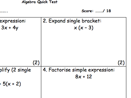 Composite Functions Gcse Worksheet By Pinpointlearning Teaching
