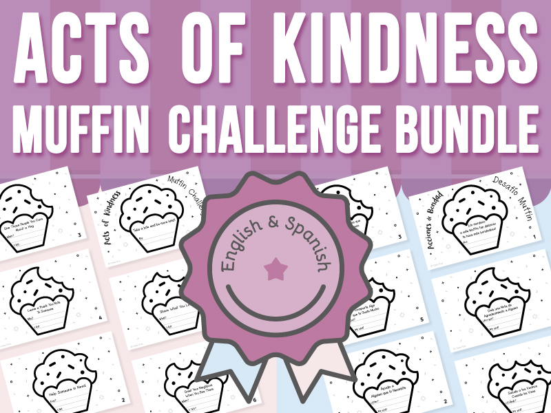 Acts of Kindness - Muffin Challenge BUNDLE