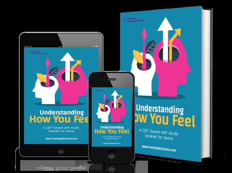 CBT-based self-study workbook for teens - Understanding How You Feel