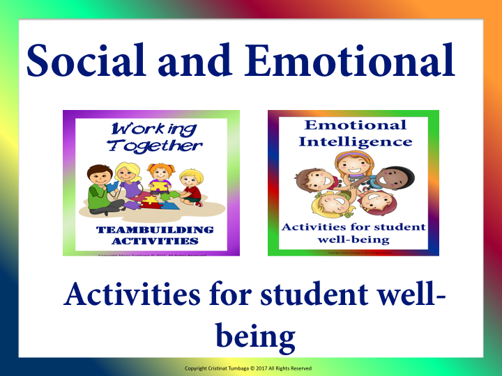 Social and Emotional Activities for Student Well- Being