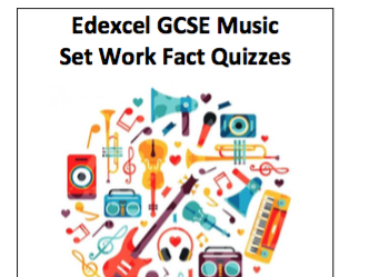 Edexcel GCSE Music 10 Question Quizzes: Schwartz and Williams