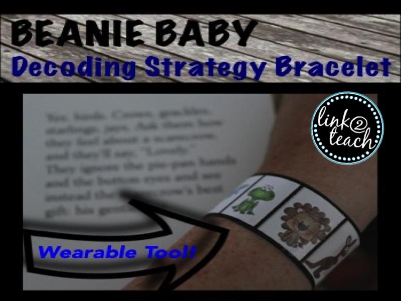 Beanie Baby Inspired Decoding Bracelets