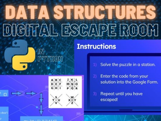 Python Digital Escape Room - Data Structures