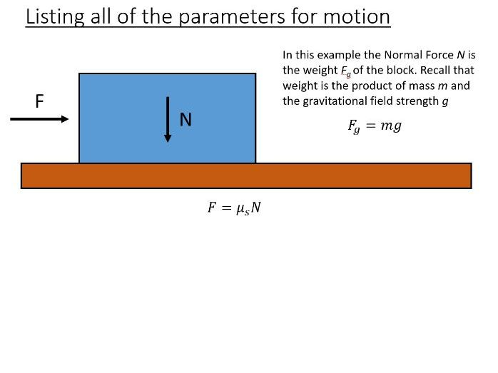 BTec Engineering - Forces and Linear Motion (PowerPoint + Worksheet)