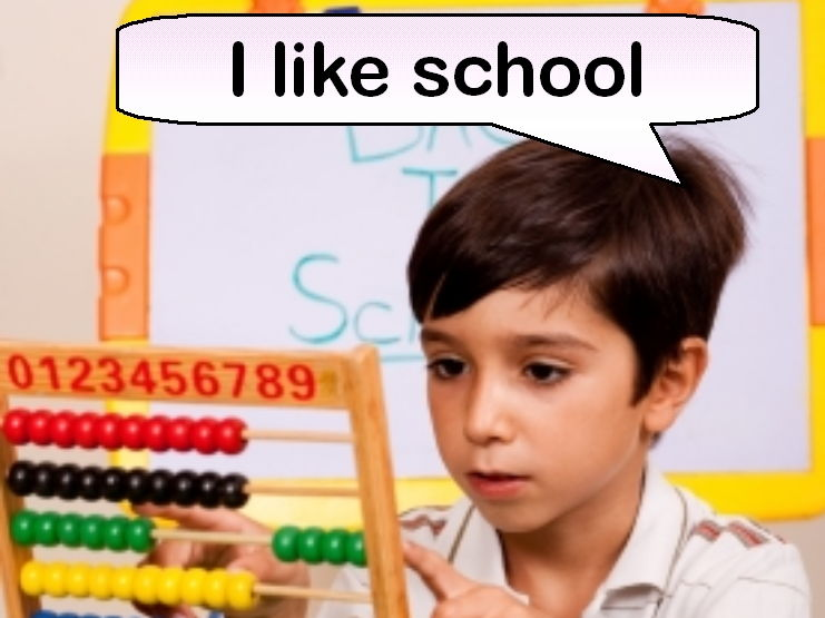 I Like School (Rhyming picture book)