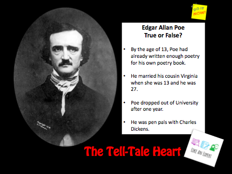 'The Tell-Tale Heart' by Edgar Allan-Poe - independent analysis