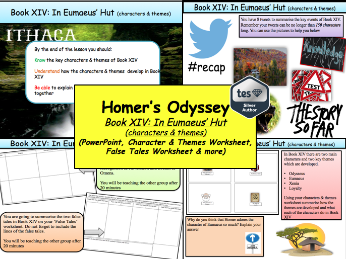Homer's Odyssey – Book XIV: In Eumaeus' Hut (characters & themes)