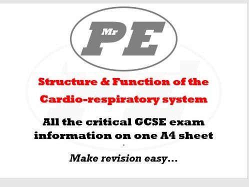 KEY INFO SHEET Structure & Function of the CR System