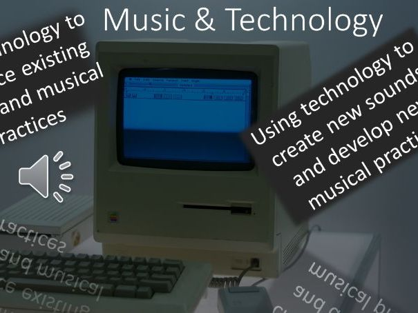 Music Tech- Introduction to the tools