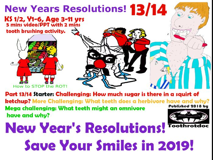13/14  New Year's Resolutions! Save Your Smiles!