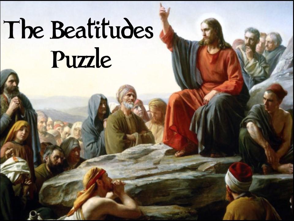 The Beatitudes - puzzle