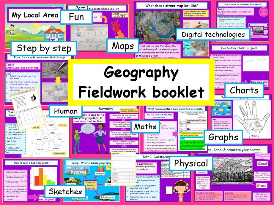 Geography Fieldwork KS2 My Local Area