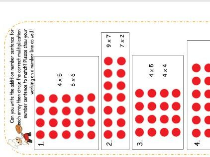 Year 1 Multiplication Resources