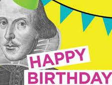 SHAKESPEARE'S BIRTHDAY- Design a Cake- KS3 or KS4