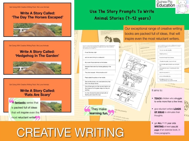 Use The Story Prompts To Write Animal Stories (7-13 years)