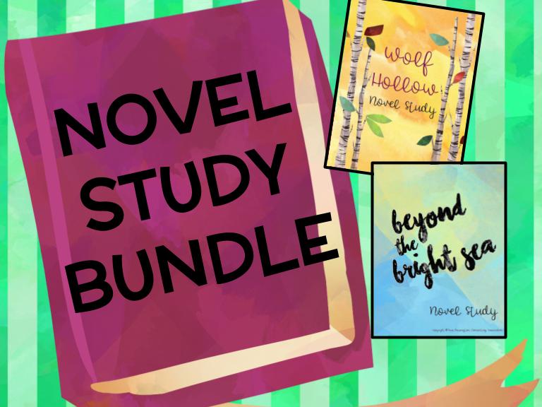 Lauren Wolk Novel Study BUNDLE (two novel studies)