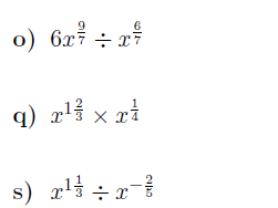 Algebra and functions worksheets (wih solutions)