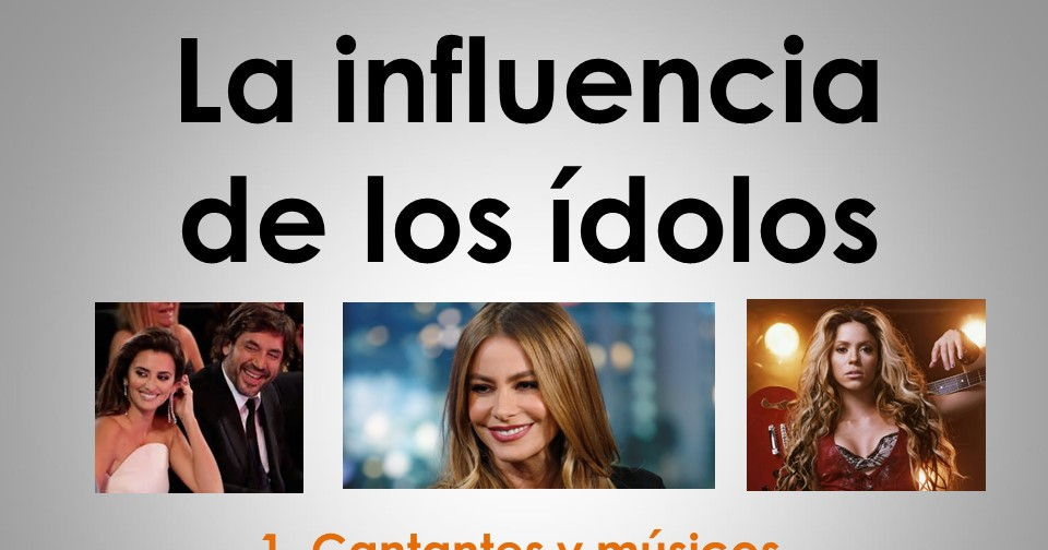AQA New AS/A Level Spanish La influencia de los ídolos