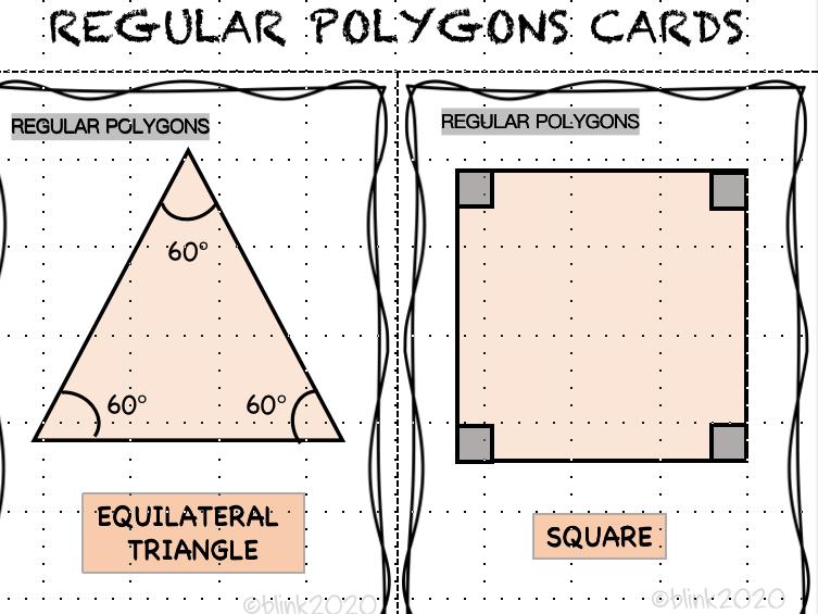 REGULAR POLYGONS CARD
