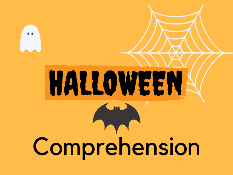 Halloween Comprehension (ESOL,ESOL,EAL,EFL)