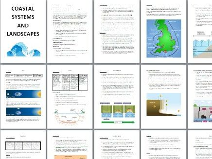 AQA A Level Coastal Systems and Landscapes Revision Booklet