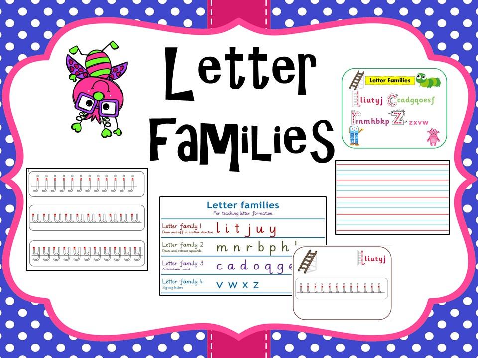 Letter families